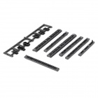 Protective Anti-Dust Plugs Set for Sony PS3 4000 - Black