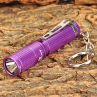 OLIGHT I3S Cree XP-G2 R5 80lm 4-Mode White Flashlight - Purple (1 x AAA)