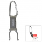 Free Soldier Outdoor Quick Release Fabric Belt + Aluminum Alloy Snap Hook w/ Carabiner - Grey