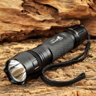 UltraFire LLZ-U2 600lm 5-Mode Memory White Tactical Flashlight w/ Cree XM-L U2 - Black (1 x 18650)