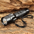 RAYSOON TD339 600lm 5-Mode White Flashlight w/ Cree XM-L T6 - Black (1 x 18650)
