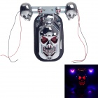 Skull Head Style 1W 60lm 9-LED Motorcycle Decoration light / Tail light / Steering light - (12V)