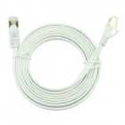 Ultra-slim Flat Type Cat.7 High-Speed LAN Cable - White (200cm)