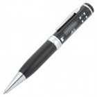"Oulisheng N18-YINSE Digital 0.8"" LCD Voice Recorder + Black Ink Pen - Black (8GB)"