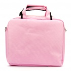 "Quality Nylon Carrying Bag with Shoulder Strap for 12"" Laptop (Pink)"