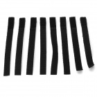 KX-12 Nylon Velcro Band Cable Management Ties - Black (8 PCS)