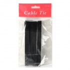 KX-12 Nylon Velcro Band Cable Management Ties - Negro (8 PCS)