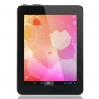 "COLORFLY CT704 Quad Core 7"" Android 4.1.1 Tablet PC w/ 512MB RAM, 8GB ROM, TF, OTG - White + Black"