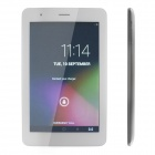 "PORTWORLD M08 7"" Dual Core Android4.2 3D Display 3G Tablet PC w/ 1GB RAM, 8GB ROM, TF, OTG - White"