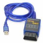 Car OBD Scan Diagnostic Interface Scan Tool - Blue