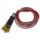 DIY 3D impresora RepRap J-Head MKIV MKV Hot End Boquilla - multicolor (0,4 mm / 100 cm-Cable)