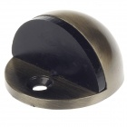 303B Europe Style Compact Strong Stainless Steel Magnetic Door Stopper - Golden + Black