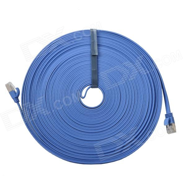 CAT-7 10Gbps RJ45 Male to Male Connection Networking Cable - Blue (15m) supra cat 7 15m