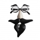 PDMF-YJLR Funny Glasses for Halloween / Clown Performance - Black
