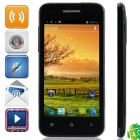 "Bedove X12 MTK6577 Dual-Core Android 4.0.9 WCDMA Bar Phone w/ 4.0"", 512MB RAM, 4GB ROM, GPS - Black"