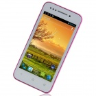"Bedove X12 MTK6577 double-Core Android 4.0.9 WCDMA Bar Phone avec 4.0 "", ROM 4 Go, GPS-Blanc + Violet"