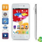 "WEIMI WM-N7100-BAISE MTK6517 Dual-Core Android 4.0.4 Bar Phone w / 4,3 "", 512MB RAM, 1GB ROM - Weiß"