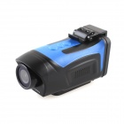 "PORTWORLD AT68 1.5"" LCD 5MP Wide-angle HD 1080P Waterproof Anti-shake Sports Camera - Black + Blue"