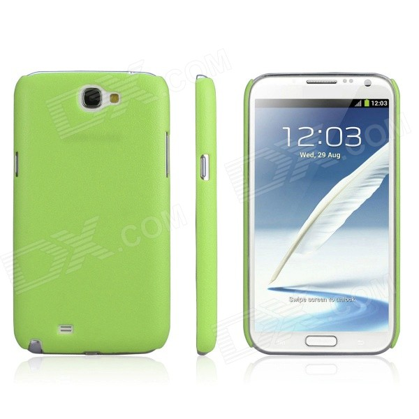ENKAY Protective Plastic Back Case for Samsung Galaxy Note 2 / N7100 - Grass green пазл пагода step puzzle 1000 деталей