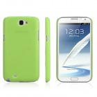 ENKAY Protective Plastic Back Case  for Samsung Galaxy Note 2 / N7100 - Grass green