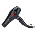 ZN-3200 1800W Professional Hair Dryer for Hair Salon - Black (2-Flat-Pin Plug / 220~240V)
