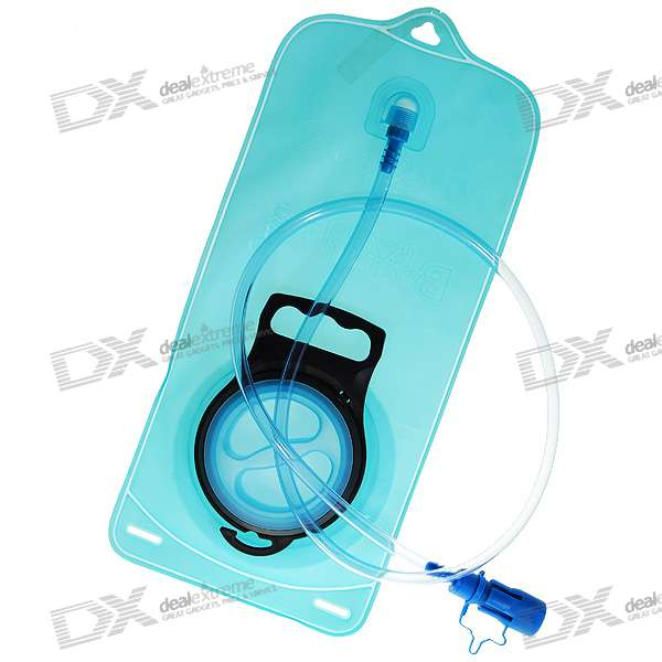 Durable Flattenable Water Bag with Tap (2.5-Litre)