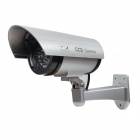 E-J RL-027 High Simulation Dummy Camera Monitor w/ LED Light - Silver + Black (2 x AA)