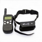 FK-033A Pet Behave Remote Training Transmitter + Receiver System - Black