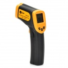 "TECMAN TM320 1.2"" Screen Handheld Infrared Thermometer - Black + Khaki"