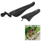 CoolChange Mountain Bike Plastic Front + Rear Fender Set - Schwarz