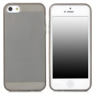 Protective Plastic Back Case for Iphone 5 - Grey