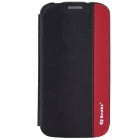 Benks Magic Fruit Pie Multifunction PU Protective Cover For Samsung Galaxy S4 i9500 - Black + Red