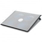 "Coolcold Elegant Ice III Dual-USB Quad-Fan Cooling Gear Stand w/ Individual Switch for 17"" Laptop"