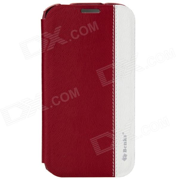 Benks Magic Fruit Pie Series Multifunction Protective Cover For Samsung Galaxy S4 i9500 - Red +White стоимость