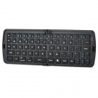 Geyes GK-208 Wireless Folding Bluetooth 66-Key Keyboard - Black