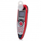 "C10 Ear Hook GSM Phone w/ 0.7"" Screen, Dual Band, Bluetooth V3.0 and FM - Red + Black"