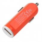 2.1A Car Cigarette Powered Charging Adapter Charger for Iphone / Ipad / Ipod - Orange + White