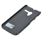 PUDINI WB-Moto X Stylish Protective Plastic Back Case for Motorola X Phone -Black