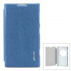 USAMS Stylish Flip-open PU Leather Case for Nokia Lumia 1020 (EOS) - Deep Blue