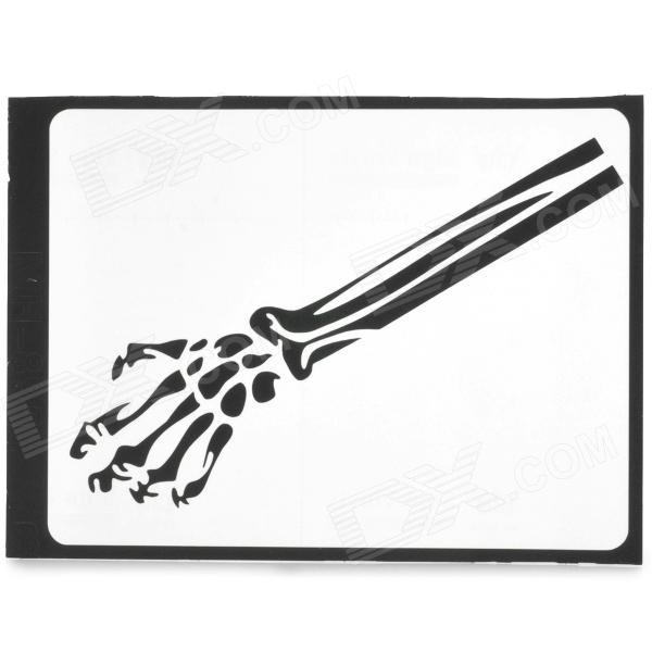 Stylish Arm Skeleton Pattern 3M Sticker for MacBook 11 / 13 / 15 /17 - Black