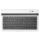 C-1 Wireless Bluetooth V3.0 61-key Keyboard for Google Nexus 7 II - Silver + Black