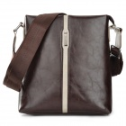 YOPIE Business PU Shoulder Bag for Men - Brown