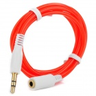 3.5mm Male to Female Audio Adapting / Converting Cable - Red (100cm)