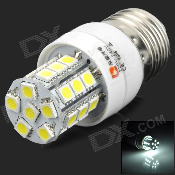 Lexing LX-YMD-048 3w 210lm 7000k E27 SMD-5050 White LED Corn Lamp - White + Yellow lexing lx r7s 2 5w 410lm 7000k 12 5730 smd white light project lamp beige silver ac 85 265v