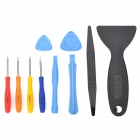 Kaisi KS-1202 10-in-1 Disassembling Screwdriver Tool Set for Iphone 3 / 4 / 4S / Ipad - Multicolored