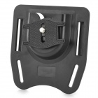 Convenient ABS Belt Mount for DSLR Camera - Black