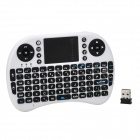 iPazzport KP-810-21 Wireless 2.4GHz 92-Key Keyboard - White + Black