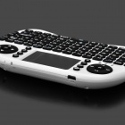 Ipazzport KP-810-21 wireless 2.4GHz teclado 92 teclas - branco + preto