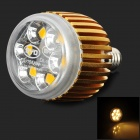BYD DL-15AA E14 3.6w 160lm 3500k 5050 Warm White LED Spotlight Lamp - Golden + Silver + Tranparent