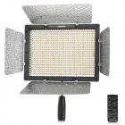 YONGNUO YN600 Universal 36w 4680lm 3200K/5500K Adjustable 600 LED Camera Light - Black